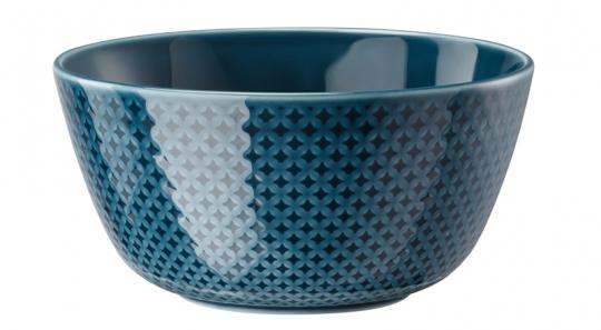 Rosenthal Selection Junto Ocean Blue Müslischale 14 cm