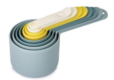 JosephJoseph Nest Measure Messbecher-Set mit 8 Größen opal