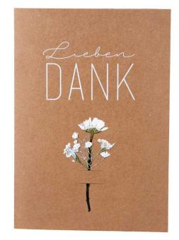 Räder Blumenkarte Lieben Dank