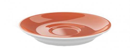 Dibbern Solid Color Papaya Espresso Untertasse Classico