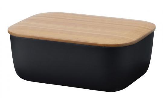 Stelton Rig-Tig Box-It Butterdose schwarz
