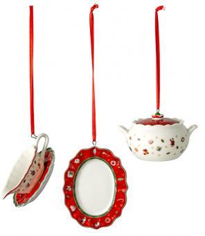 Villeroy & Boch Toy´s Delight Ornamente Servierteile Set 3-tlg. 3x6 cm Decoration