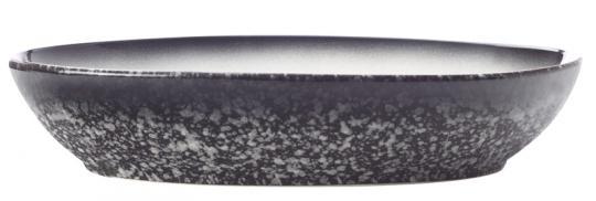 Maxwell & Williams Schale Oval 30x20 cm Caviar Granite