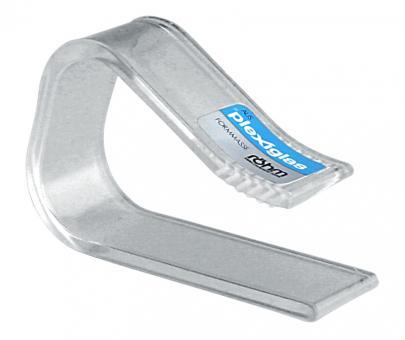 Hansi TT-Klammer Plexiglas 4 Stk. Tischplatten bis 27 mm