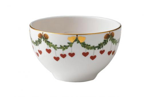 Royal Copenhagen Starfluted Christmas Schale
