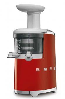 Smeg Slow Juicer - Entsafter 0,5l Rot