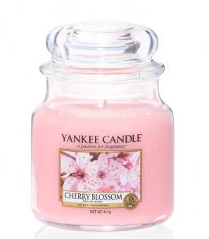 Yankee Candle Jar mittel Cherry Blossom