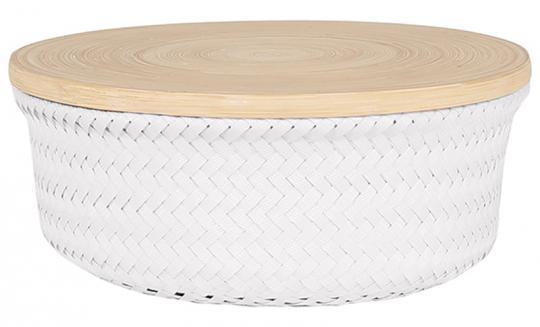 Handed By Basket M Wonder Round white