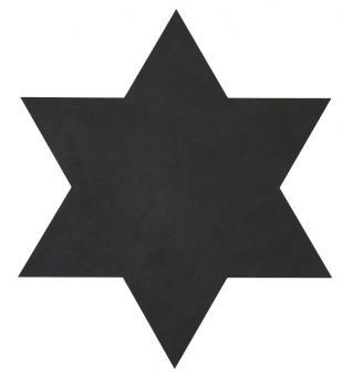 Lind DNA Star Table Mat Nupo Black 1,6 mm
