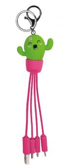 Legami Mehrfach-Ladekabel Link Up Cactus