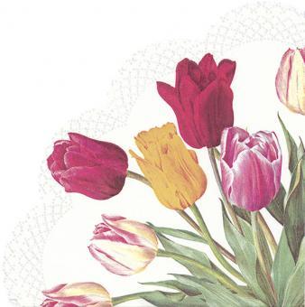IHR New Rambling Rose Cream Tulips White