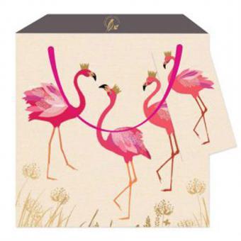 chic.mic Geschenktüte M Flamingo