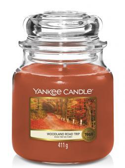 Yankee Candle Kerze mittel Woodland Road Trip
