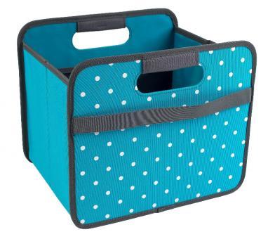Meori Faltbox 15 L Classic Small Azur Blau/Punkte
