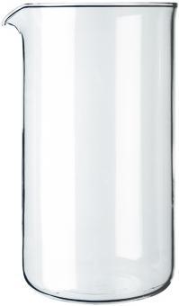 Bodum Spare Beaker Ersatzglas zu Kaffeebereiter 8 Tassen 1 L Ø 9,6 cm H 18 cm
