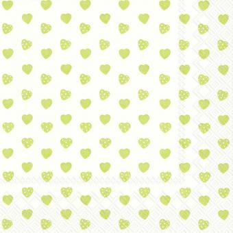 IHR Lunch-Servietten 33x33 cm My Little Sweetheart Lime