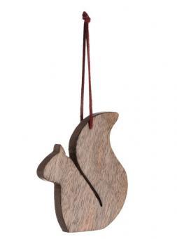 Leonardo Edy Mangoholzhänger 9 cm Eichhörnchen