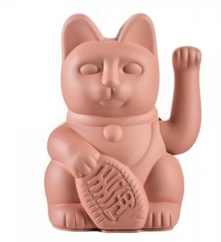 Donkey Winkekatze Lucky Cat Pink