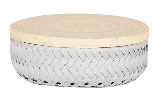 Handed By Basket XS Wonder Round flint grey