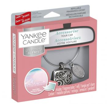 Yankee Candle Duftanhänger Square Kit Pink Sands