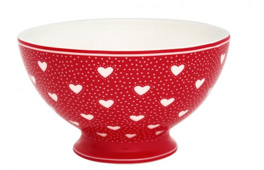 Greengate Suppenschale Penny red
