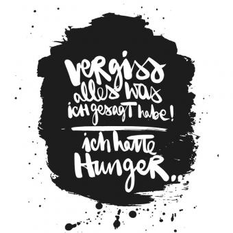 Paperproducts Design Servietten 33x33 Hunger!