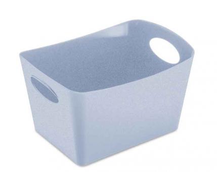 Koziol Aufbewahrungsbox 1 L Boxxx S organic blue