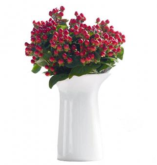 ASA Selection Colori 3.0 Vase weiss Ø 8,5 cm H 11 cm