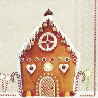 IHR Lunch-Servietten 33x33 cm My Sweet House Linen