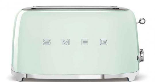 Smeg Toaster 4-Scheiben Pastellgrün