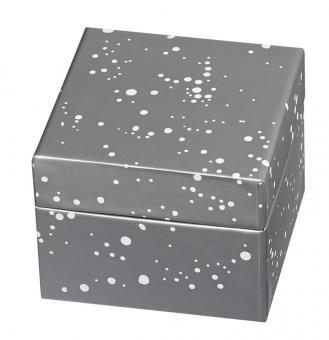 Räder GdH Geschenkboxen 3er Set silber H 11,5 cm/9,5 cm/7.5 cm