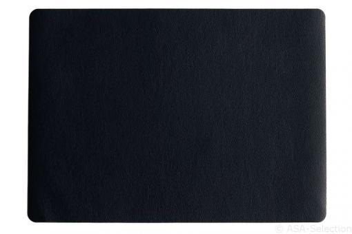 ASA Selection Tischset schwarz Lederoptik 46x33 cm
