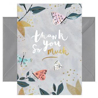 chic.mic Doppelkarte mit Umschlag Thank you so much