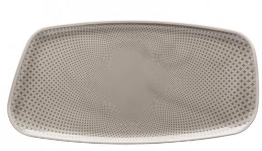 Rosenthal Selection Junto Pearl Grey Platte 30x15 cm