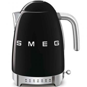 Smeg Wasserkocher 1,7 L 7 Temperaturstufen Schwarz
