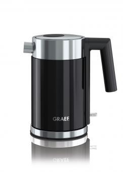 Graef Wasserkocher WK 402 Acryl schwarz 1 Liter