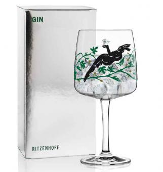 Ritzenhoff Gin Ginglas K. Rytter (Hase) F20 Gin Ginglas