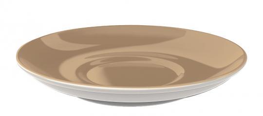 Dibbern Solid Color Clay Kaffee Untertasse