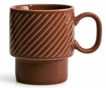 Sagaform Coffee & More Kaffeebecher 0,25 L terracotta