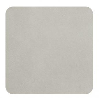ASA Selection 4er Set Untersetzer Limestone Soft Leather Placemats L 10 cm B 10 cm H 0,2 cm