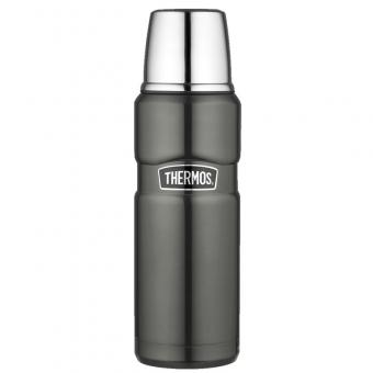 Thermos Isolierflasche Stainless King Grey 0,47 L