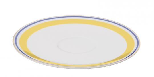 Dibbern Capri Untertasse 0,20 L / 0,25 L Gelb / Blau