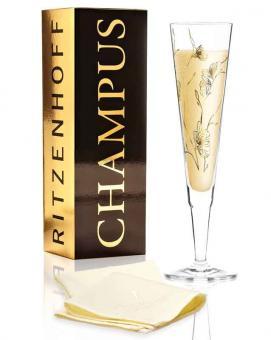 Ritzenhoff Champus Champagnerglas M. Benzoni (Floral) F20 Champus Champagnerglas