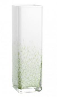 Leonardo Nido Vase 30 cm Weiß/Grün