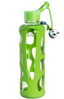 Leonardo Trinkflasche 0,5 L Grün Panda Bambini