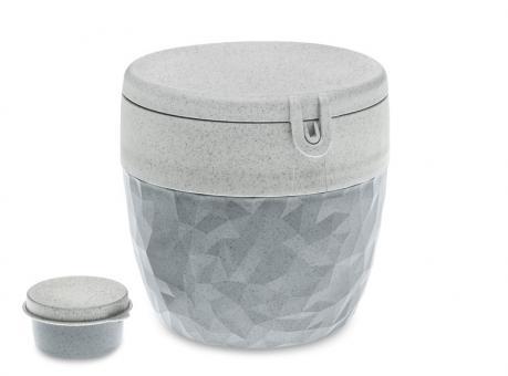 Koziol Bentobox Club organic deep grey