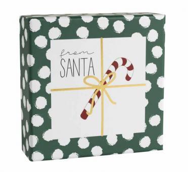 Räder Giving Geschenkschachtel From Santa 10X10X3,5 cm