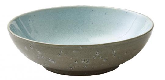 Bitz Salatschüssel 24 cm grau/hellblau