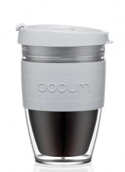 Bodum Travel Mug, 0.30 L Kunststoff doppelwandig Joycup shadow