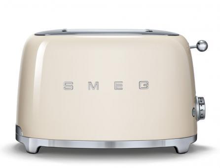 Smeg Toaster 2-Schlitz Creme